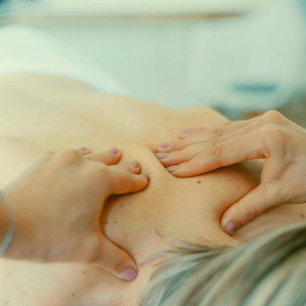 Klasická masáž chrbta